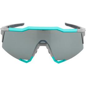 100% Speedcraft Cykelbriller Tall, soft tact celeste green/grey